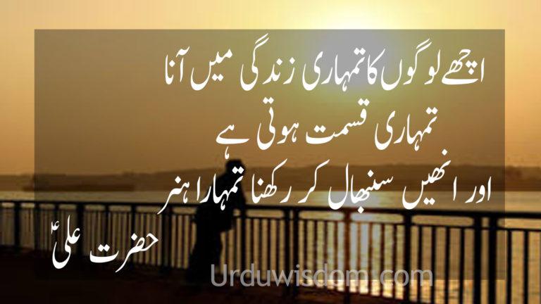 Motivational Quotes in Urdu 6