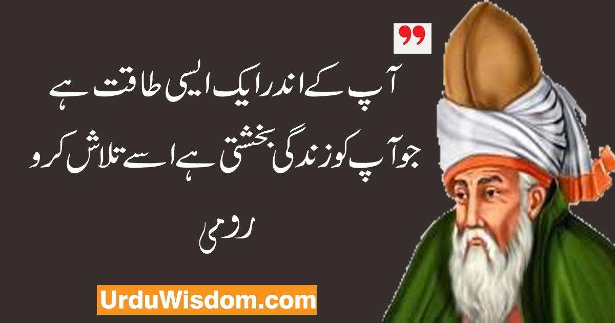 Aqwal e zareen by Rumi.