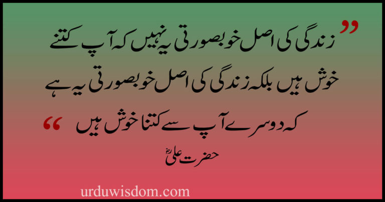 Hazrat Ali Quotes in Urdu 2