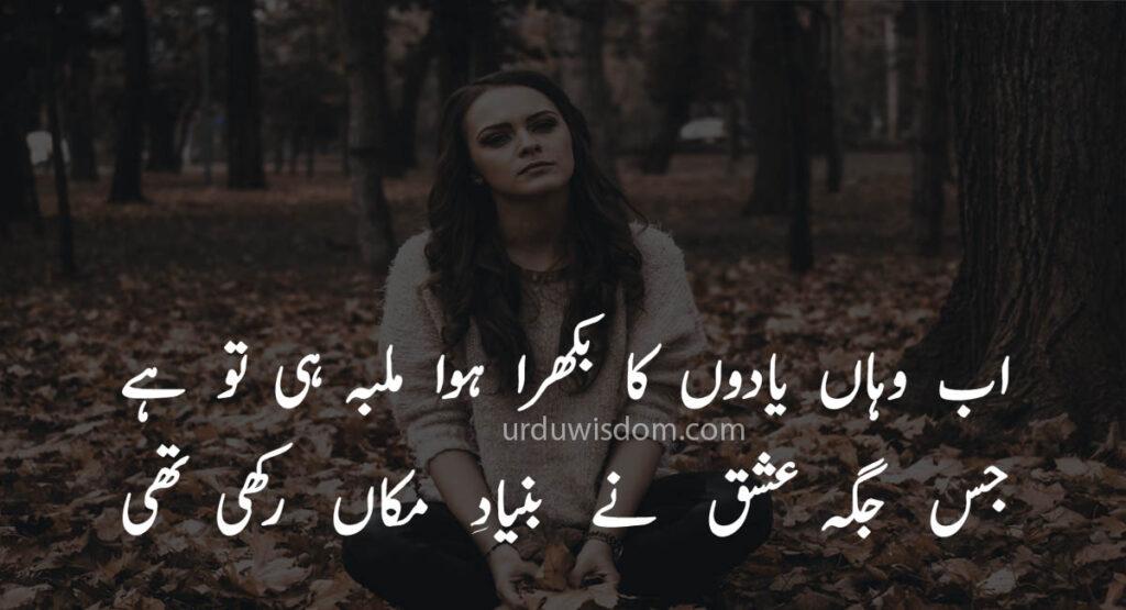 Poetry Love In Urdu 16