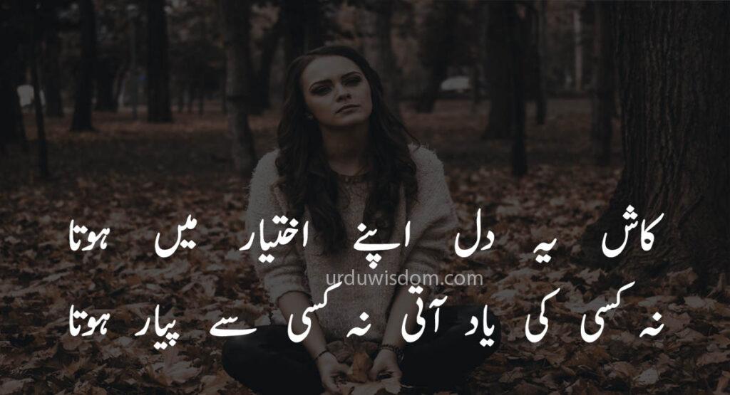Poetry Love In Urdu 2