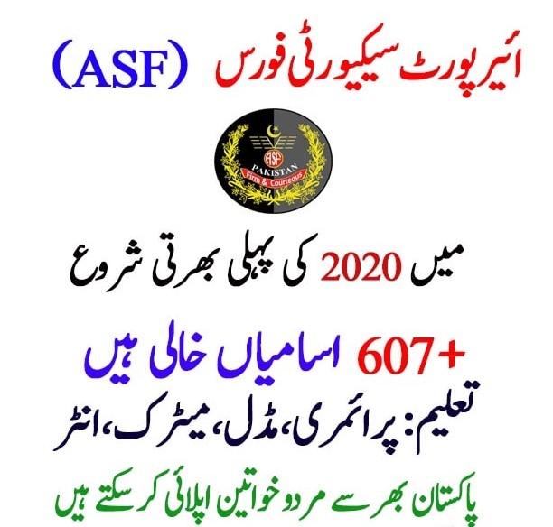 asf jobs 2020