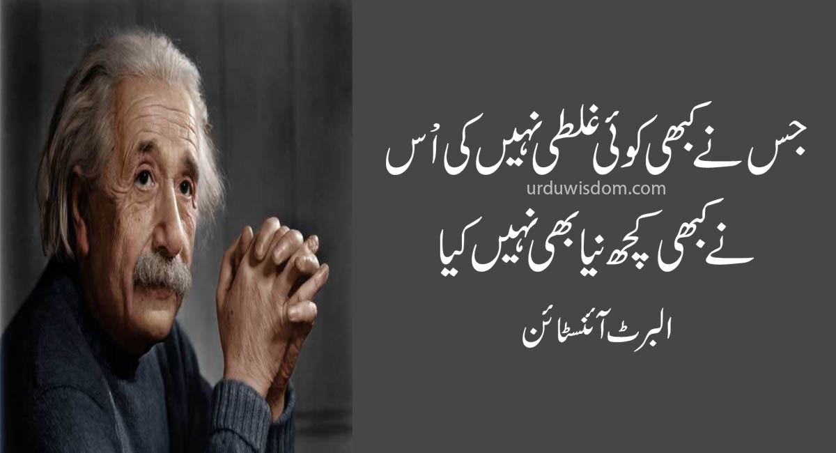 Top 20 Albert Einstein Quotes In Urdu 5