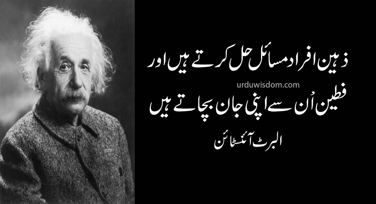 Einstein Quotes In Urdu