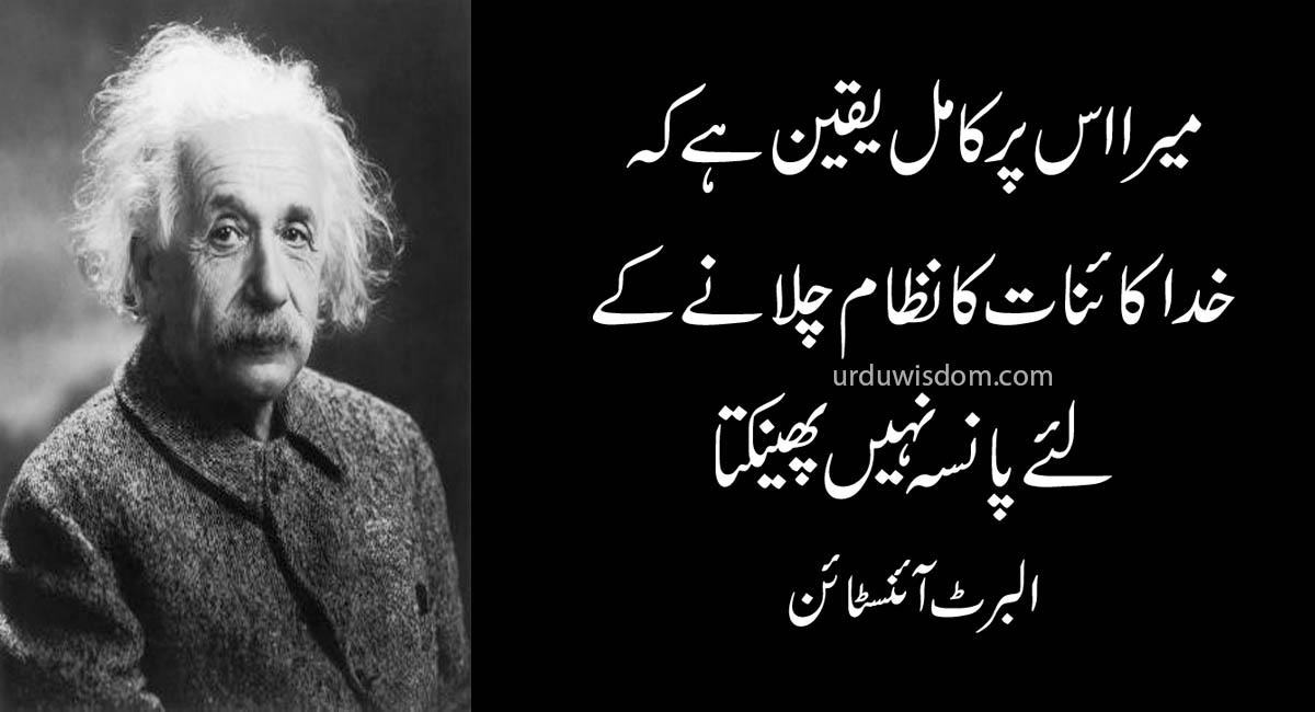 Top 20 Albert Einstein Quotes In Urdu 6