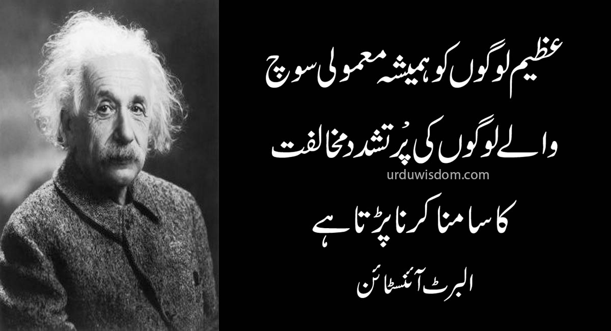 Top 20 Albert Einstein Quotes In Urdu 7