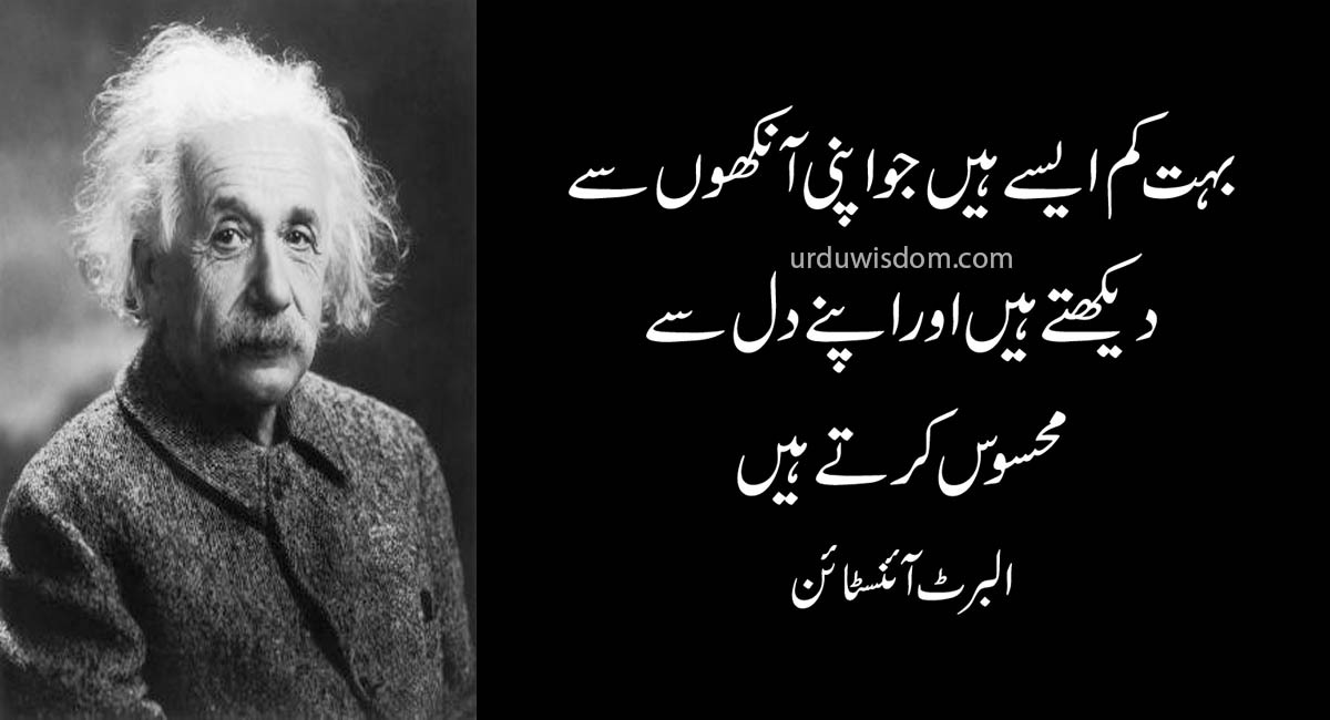 Top 20 Albert Einstein Quotes In Urdu 11