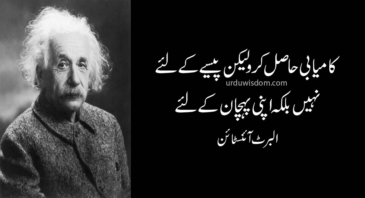 Top 20 Albert Einstein Quotes In Urdu 12