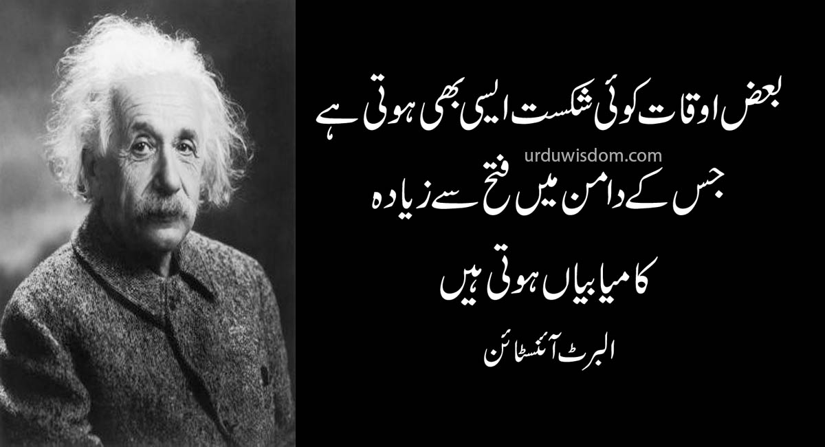 Top 20 Albert Einstein Quotes In Urdu 13