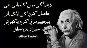 Top 20 Albert Einstein Quotes In Urdu 2