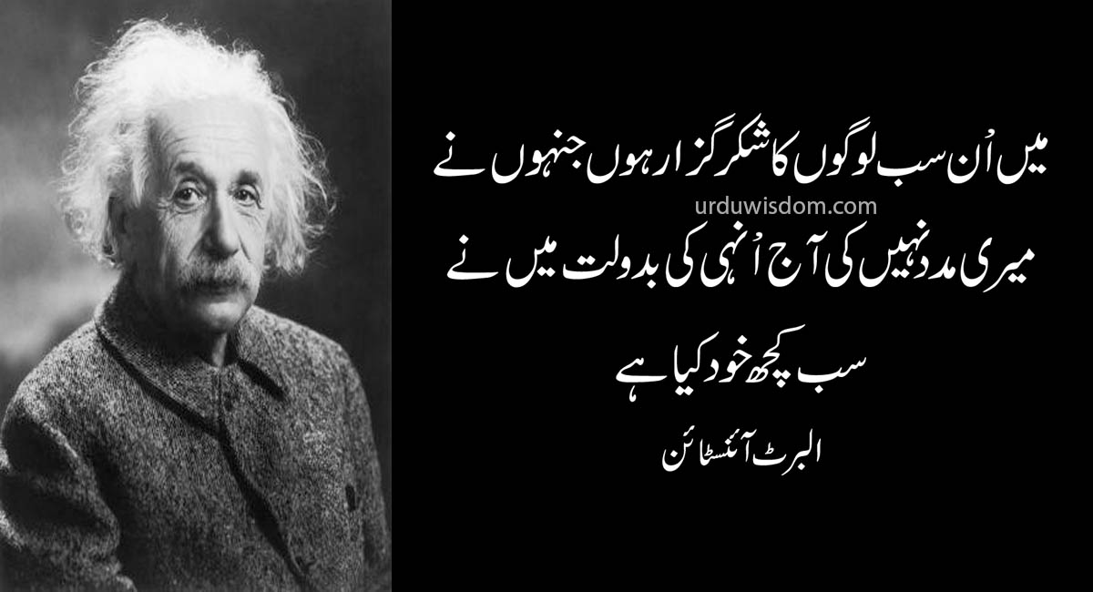 Top 20 Albert Einstein Quotes In Urdu 14
