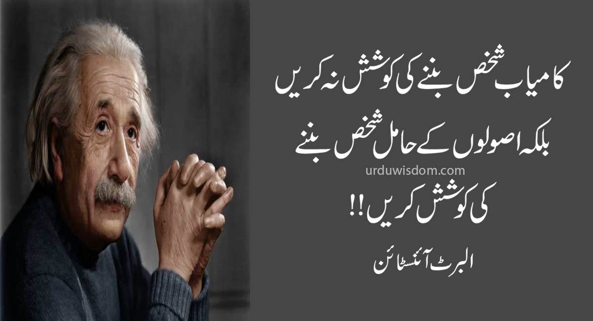 Top 20 Albert Einstein Quotes In Urdu 4