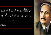 allama iqbal poetry,