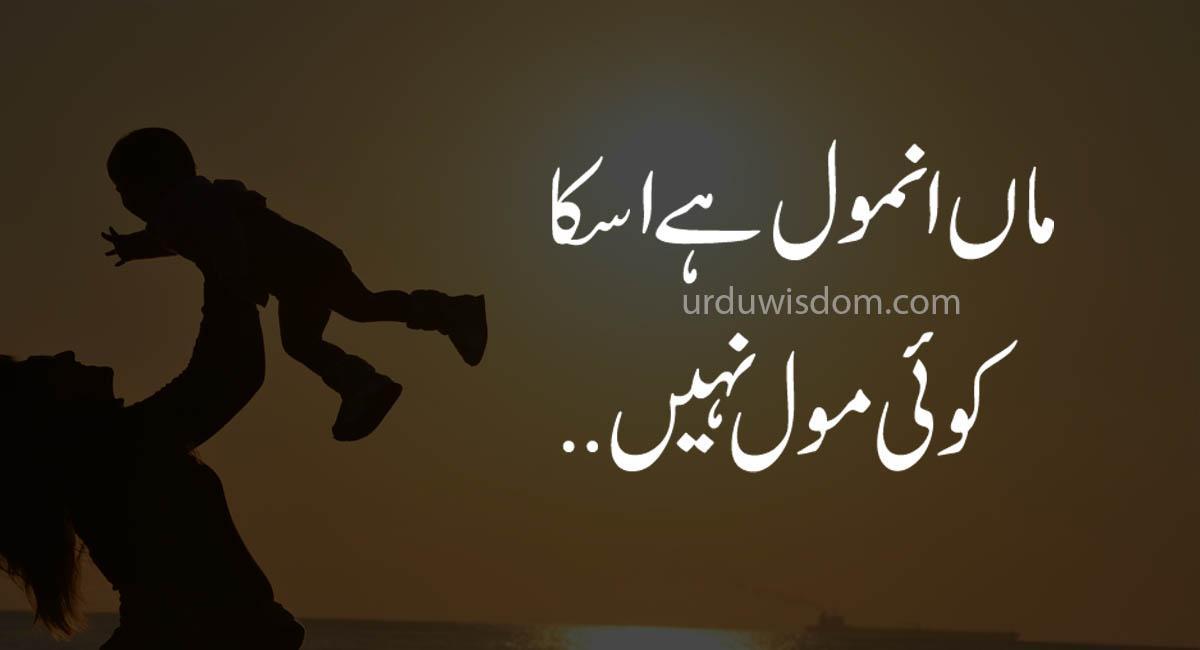 Top 20 Mother Quotes in Urdu 2