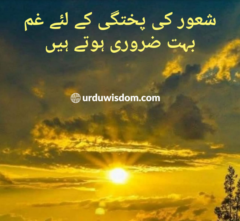 Whatsapp status in urdu
