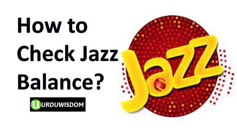 How to Check Jazz Balance?