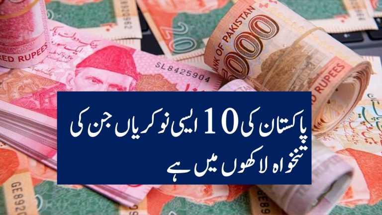Top 10 Highest Paid Jobs in Pakistan in Urdu
