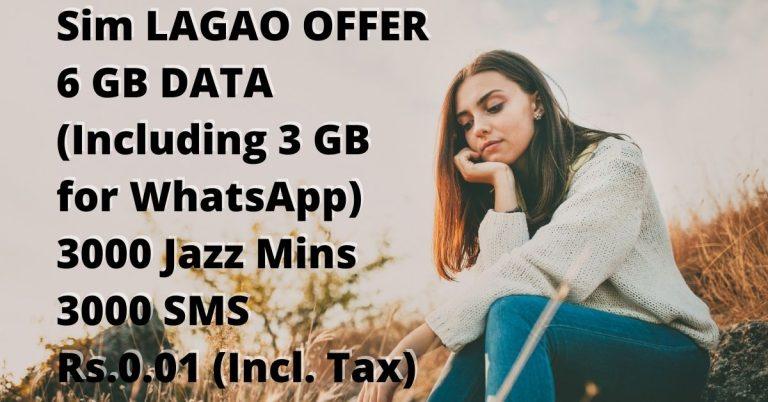 Jazz Sim Lagao Offer Code 2021 1